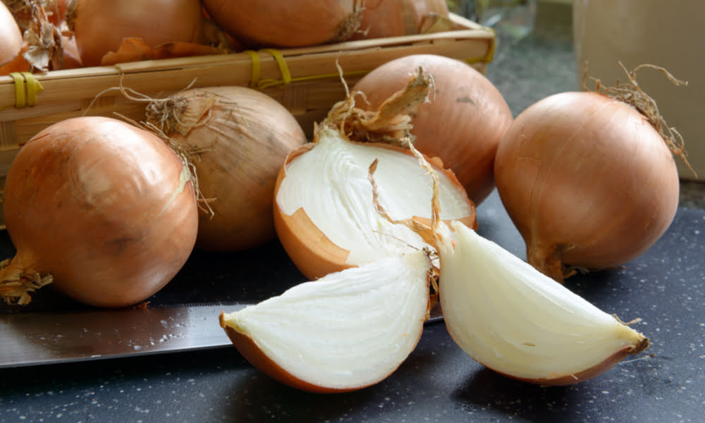 Organic Onions Sliced