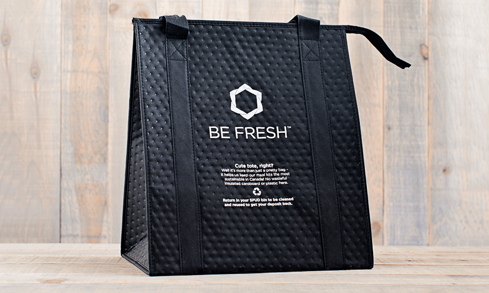 WE'RE FREAKING OUT ABOUT OUR NEW REUSABLE MEAL KIT BAGS