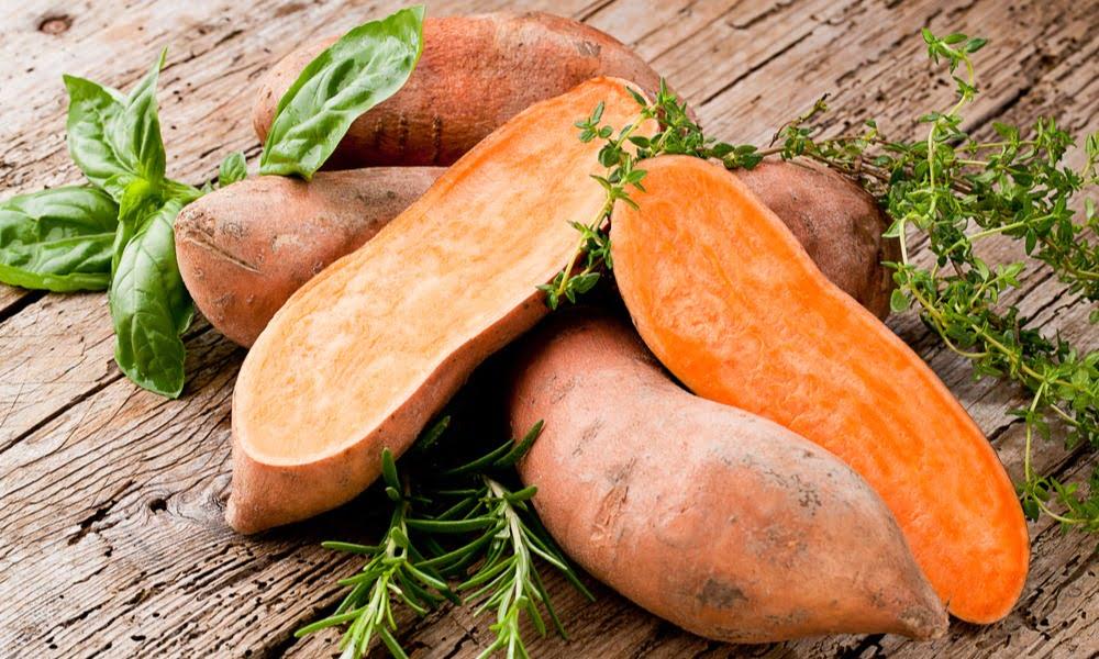 Orange sweet potato not a yam