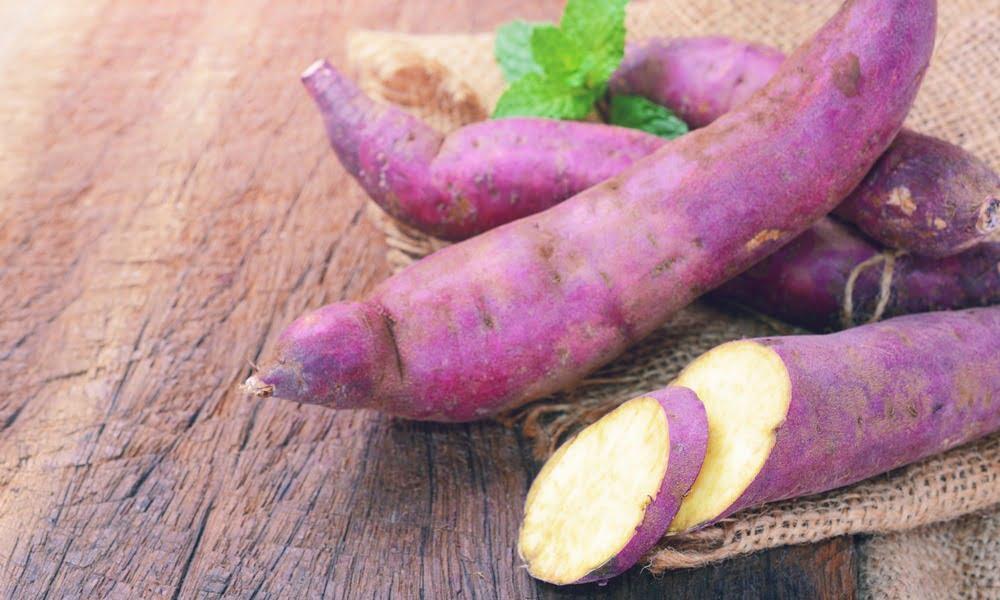 white sweet potato not a yam