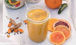 Turmeric Carrot Creamsicle Smoothie
