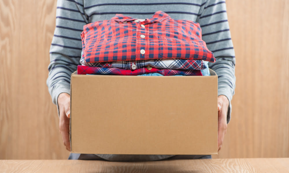 SPUD HELPS CEREBRAL PALSY ASSOCIATION WITH SUCCESSFUL CLOTHING DRIVE