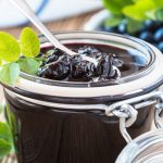 blueberry jam jar