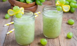 Green Grape Slushie