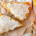 Pumpkin spice scone recipe