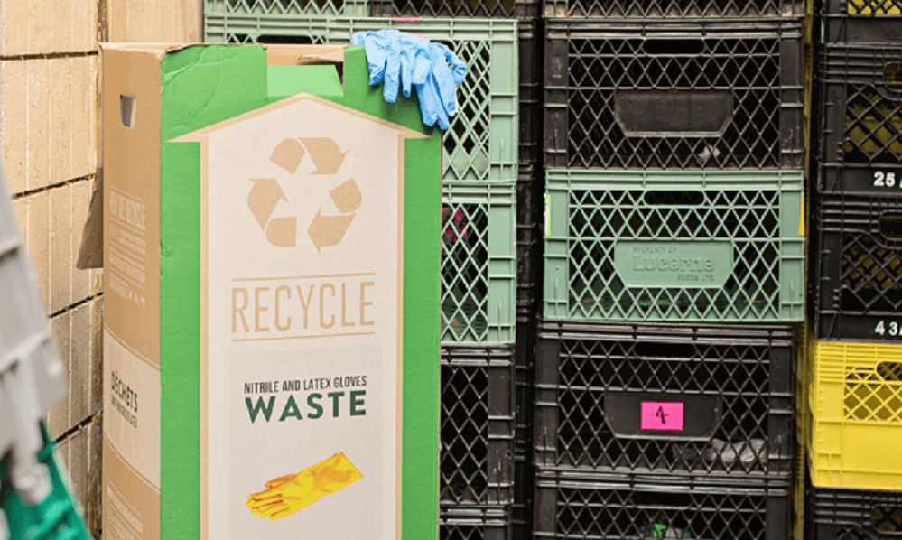 SPUD TACKLES WASTE IN VANCOUVER WAREHOUSE
