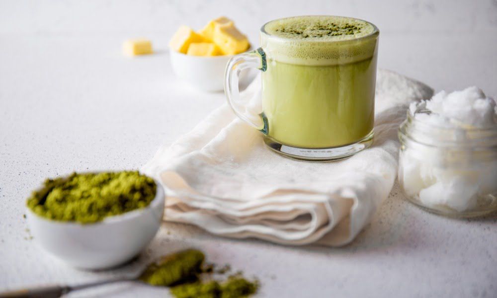 Matcha Bullet Proof Latte