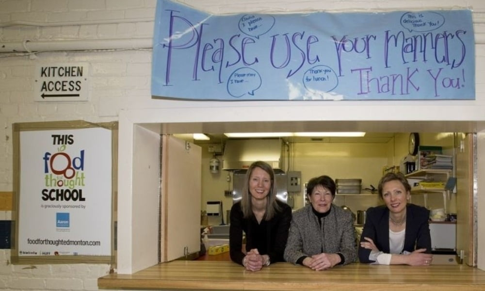 SPUD Teams With Food For Thought To Raise Funds