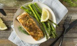 Salmon-asparagus