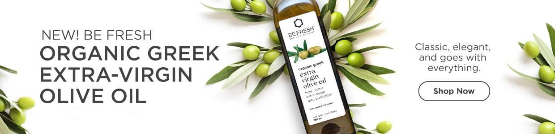 New Be Fresh Olive Oil