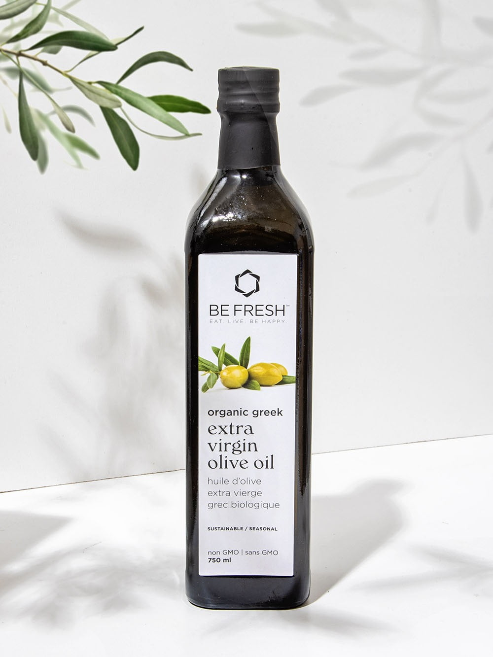New Organic Greek Be Fresh Olive Oil