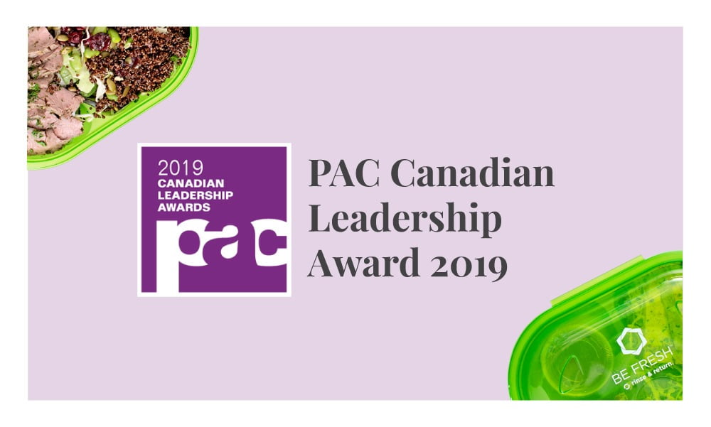 SPUD's Rinse & Return Reusable Containers Win Silver At The PAC Canadian Leadership Awards