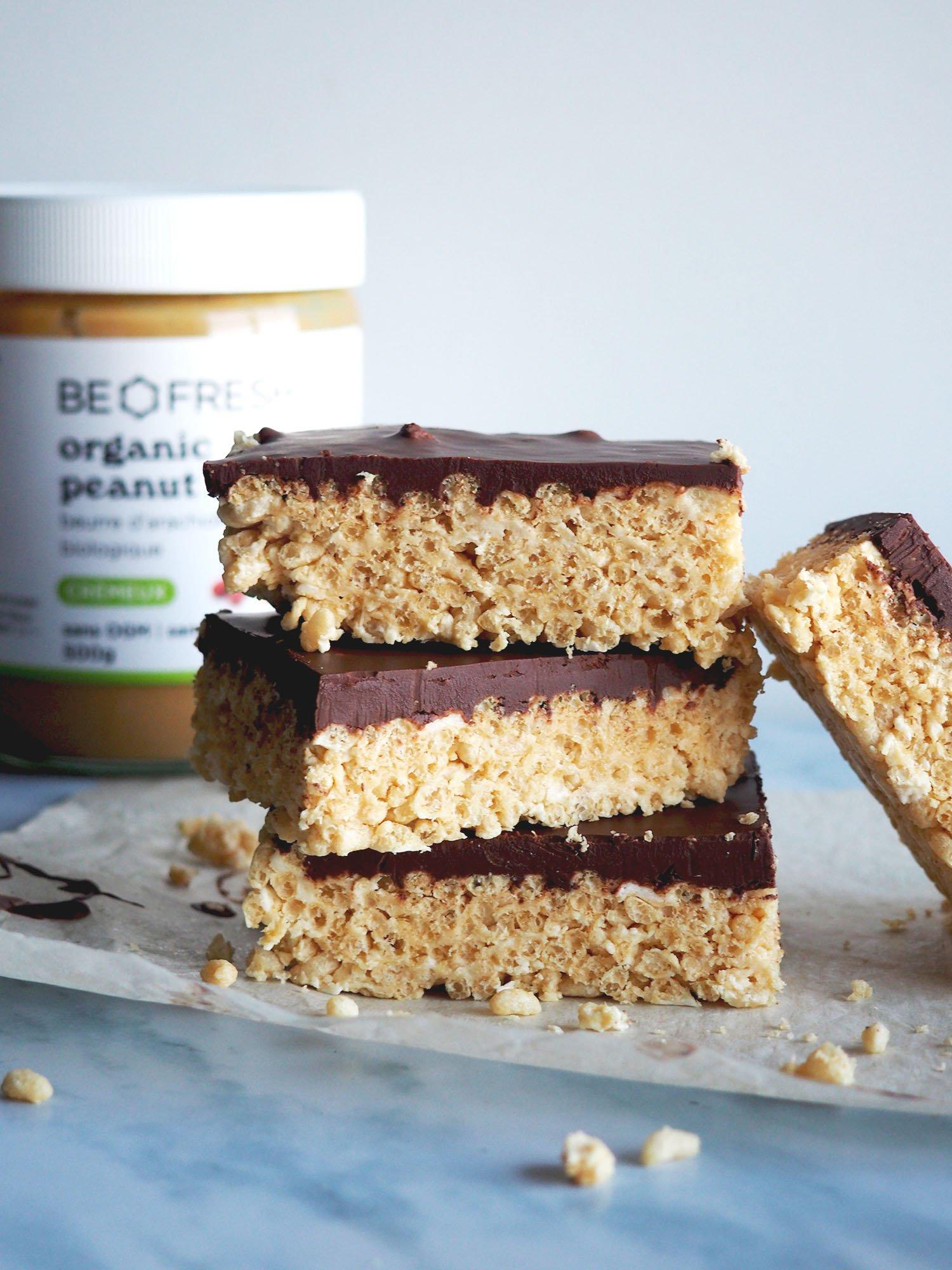 Peanut Butter Crispy Rice Treats