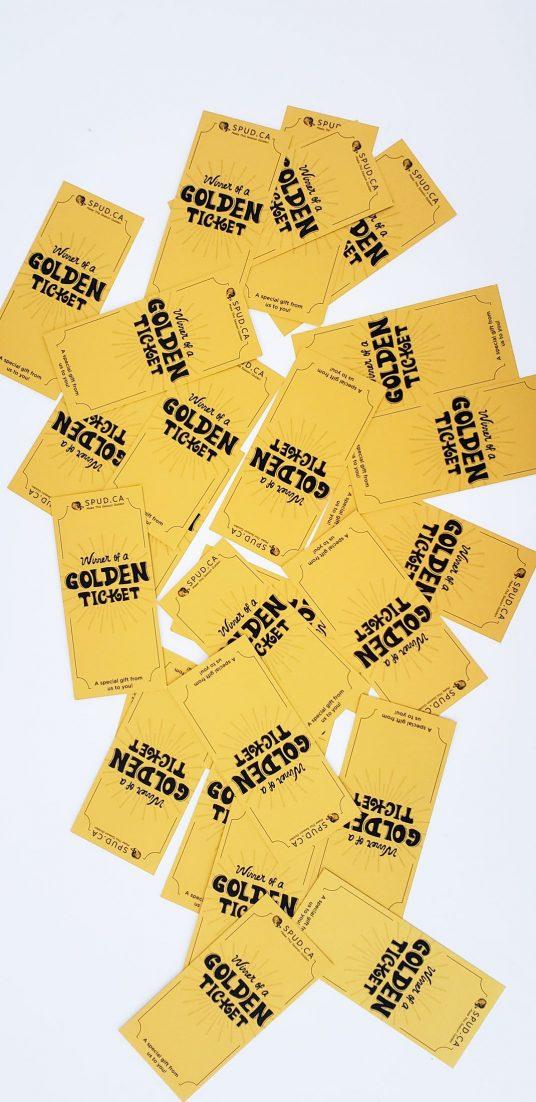 Golden Ticket Pile