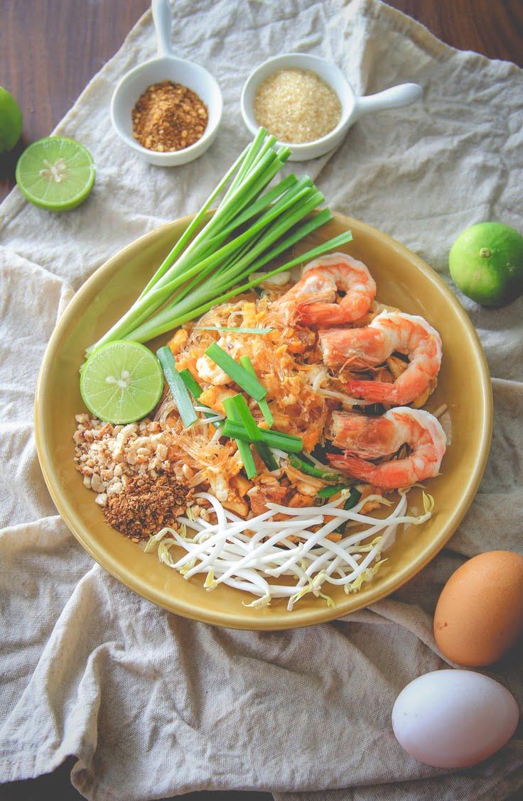 tasty spaghetti squash pad thai