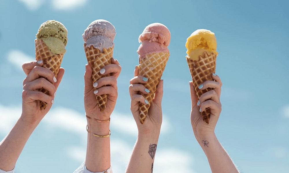 IMAGINE IF YOU COULD LIVE OFF ICE CREAM. THIS COMPANY HAS MADE IT HAPPEN.