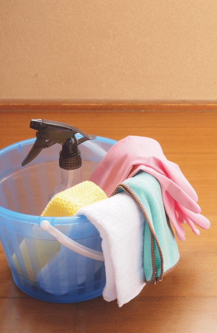 disinfecting surfaces properly