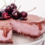 vegan cherry cheese cake