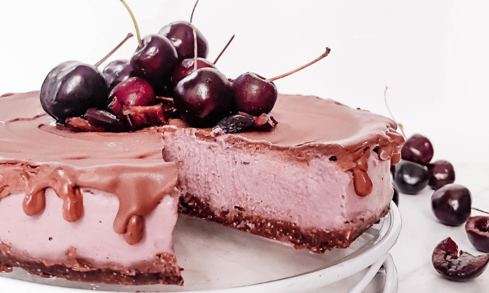 Vegan Cherry Cheese Cake