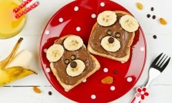 Bear Toasts-kids Snacks