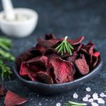 salt and vinegar beet chips