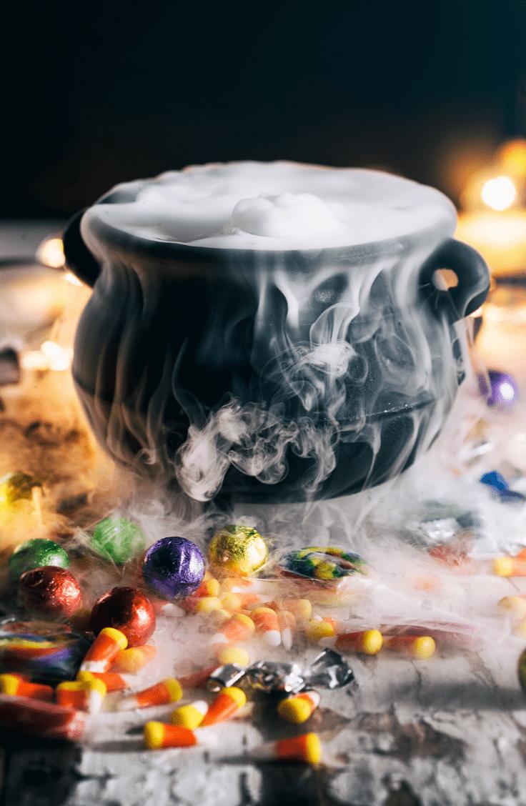 dry ice cauldron