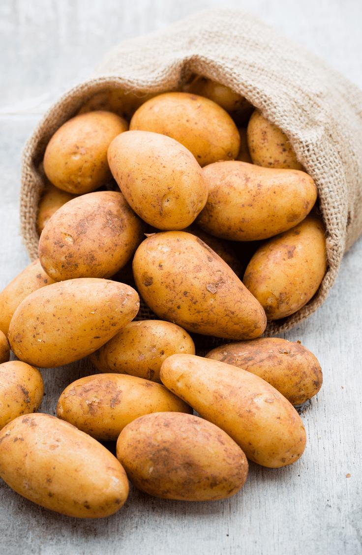 proper potato storage