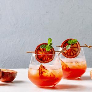 Blood Orange Citrus Cocktails