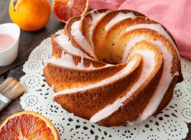 Easy Blood Orange Cake