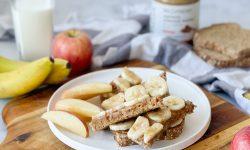 Banana Nut Butter Toast SPUD Back To School